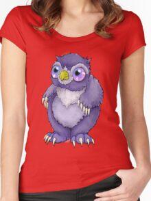 Baby Owlbear D&D Monster Women's Fitted Scoop T-Shirt