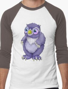 Baby Owlbear D&D Monster Men's Baseball ¾ T-Shirt