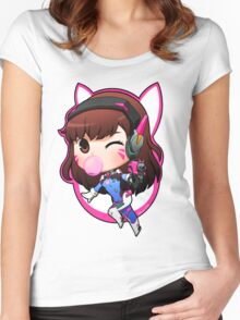 Overwatch Nerf This Women's Fitted Scoop T-Shirt