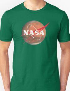 NASA Logo - Mars Unisex T-Shirt