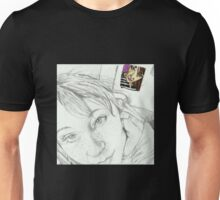 Looking Over My Own Shoulder Unisex T-Shirt