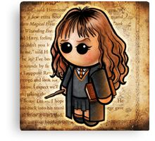 """HARRY POOTER - """"The Smart One"""" POOTERBELLY Canvas Print"""