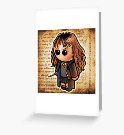 "HARRY POOTER - ""The Smart One"" POOTERBELLY Greeting Card"