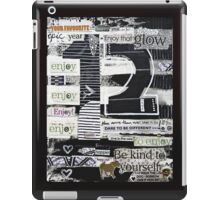 12 - Epic, Happy, Enjoy! iPad Case/Skin