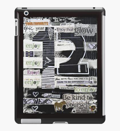 12 - Epic, Happy, Enjoy! iPad Case/Skin