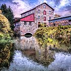 Old Stone Mill by Wib Dawson