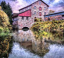 Old Stone Mill by Wib Dawson