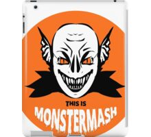 This is Monster Mash - Vampire Edition iPad Case/Skin