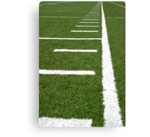 Football Lines Canvas Print