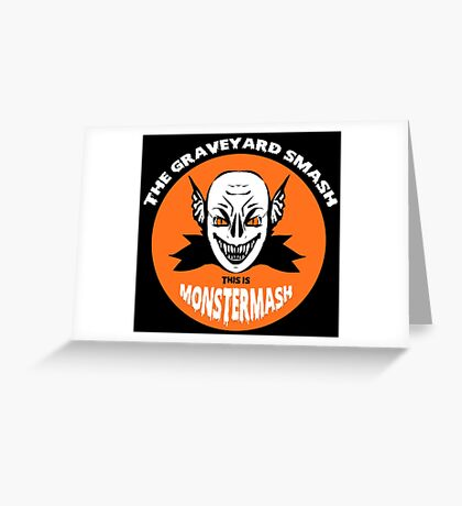 This is Monster Mash - Vampire Edition Greeting Card