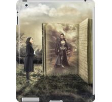 Once upon a time there was a queen iPad Case/Skin