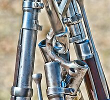 Union Muskets by GeorgeBuxbaum