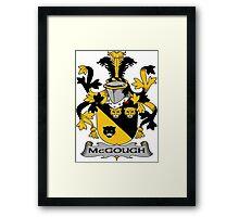 McGough Coat of Arms (Irish) Framed Print