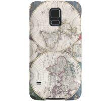 Vintage Map of The World (1685)  Samsung Galaxy Case/Skin