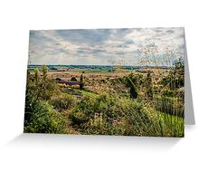 Yorkshire Lavender View Greeting Card