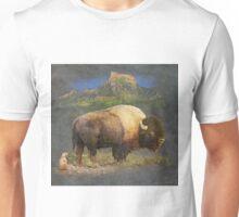 brief altercation - bison and prairie dog Unisex T-Shirt