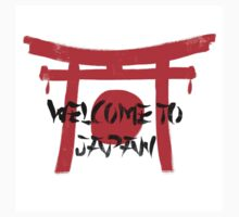 Welcome To Japan Red & Black by Sean Nguyen