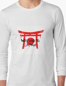 Welcome To Japan Red & Black T-Shirt