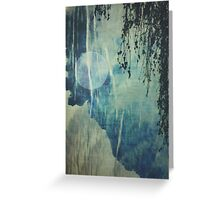 dreaming under the birch Greeting Card