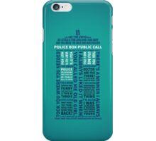 Type 40 TARDIS iPhone Case/Skin