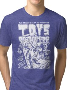 Toys Of Terror Halloween Horror Tri-blend T-Shirt