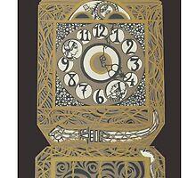 Granddaddy Clock by LoVeCaruso