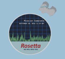 Rosetta Comet 67P Landing II by pepsicolagirl