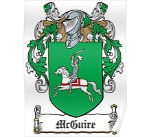 McGuire Coat of Arms (Fermanagh, Ireland) Poster