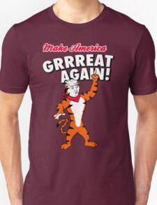 Make America GRRREAT AGAIN! - Trump the Tiger Unisex T-Shirt