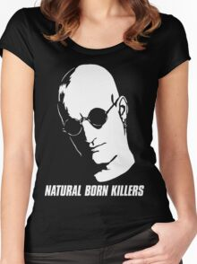 Natural Born Killers - Mickey Knox - White Women's Fitted Scoop T-Shirt