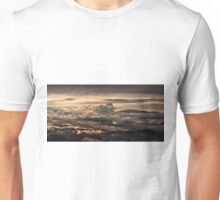Majestic sunset taken from Monte Nerone, Italy Unisex T-Shirt