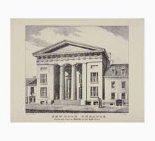 364 New York Theatre erected 1826 Front on Bowery 75 feet depth 170 feet Kids Tee