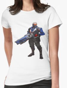 Overwatch 76 Womens Fitted T-Shirt