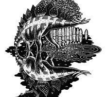 Stegosaurus by irimali
