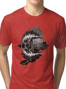 Stegosaurus Tri-blend T-Shirt