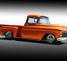 1956 Chevrolet Stepside Pickup by DaveKoontz