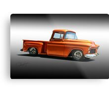 1956 Chevrolet Stepside Pickup Metal Print