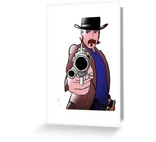 Doc Holliday Wynonna Earp Greeting Card