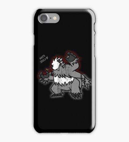 Pangoro Distressed Style iPhone Case/Skin