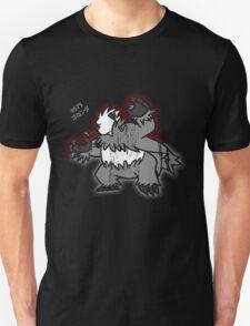 Pangoro Distressed Style Unisex T-Shirt