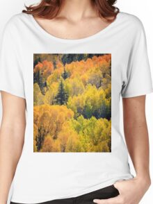 Autumn Abstract Women's Relaxed Fit T-Shirt