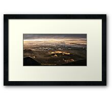 Monte Nerone, Italy Framed Print
