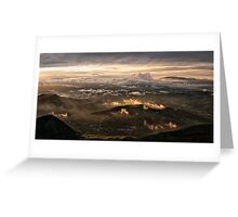 Monte Nerone, Italy Greeting Card