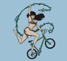 Biking Betty Kids Tee
