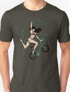 Biking Betty Unisex T-Shirt