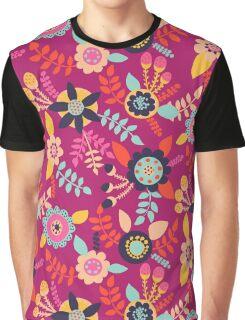Pink Garden Graphic T-Shirt