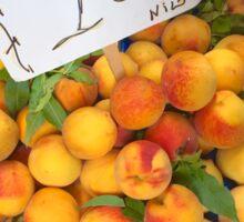 Peaches in Naples Sticker