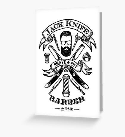 Jack Knife Greeting Card