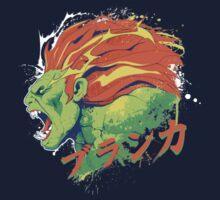 Street Fighter II - Blanka Kids Tee