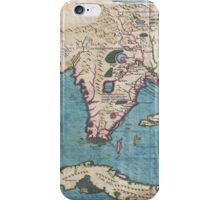 Vintage Map of Florida (1591)  iPhone Case/Skin